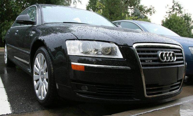 Появились шпионские фото Audi A8 2008