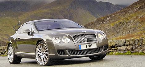 Инженеры Bentley подготовили спортивную версию Continental GT