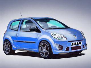 Elia сделала из городской машинки Renault Twingo ракету