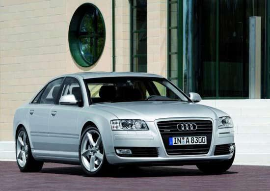 Новые подробности об Audi А8