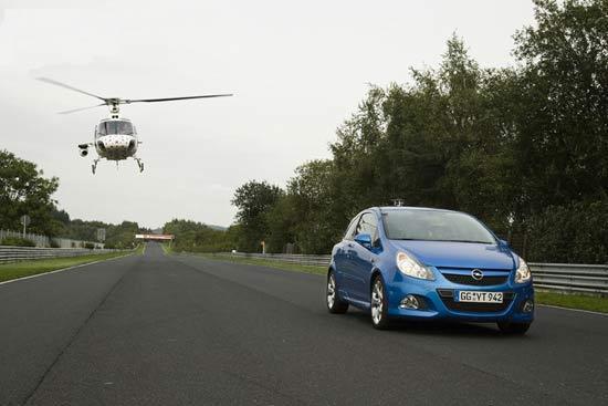 Opel Corsa OPC показал в Нюрнбургринге максимум для супермини