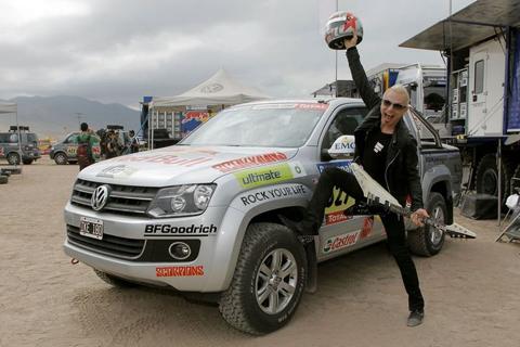 Рудольф Шенкер из группы Scorpions принял участие в ралли «Дакар» на Volkswagen Amarok