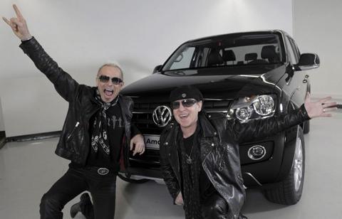 На презентации Volkswagen Amarok в Аргентине состоится живой концерт группы Scorpions