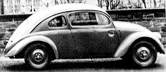Из-за внешнего сходства с жуком журналисты дали Volkswagen VW30 прозвище Beetle. Позже оно стало названием машины