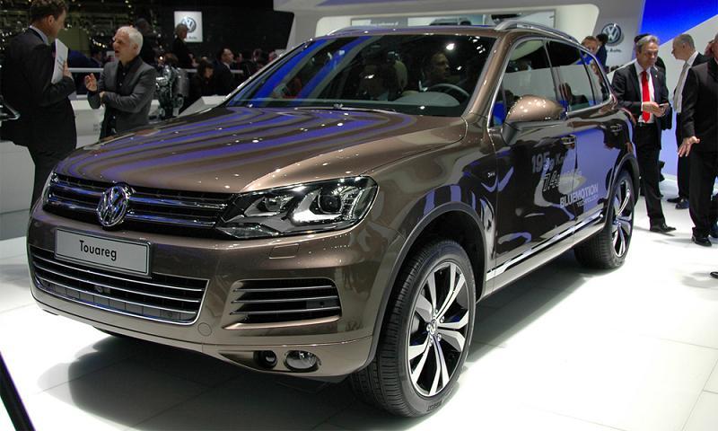 VW Touareg назван самой желанной новинкой Женевского автосалона