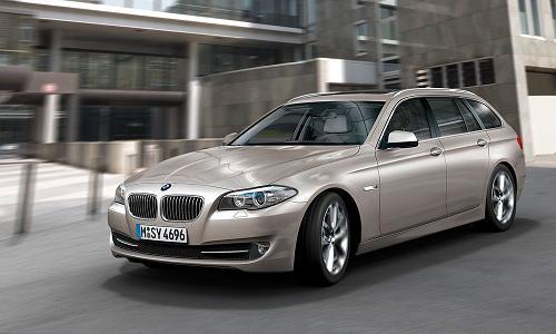 BMW объявляет российские цены на 5-Series Touring