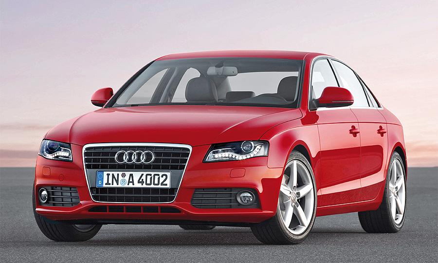 Продажи Audi в мире за первый квартал 2010 года выросли на 24%