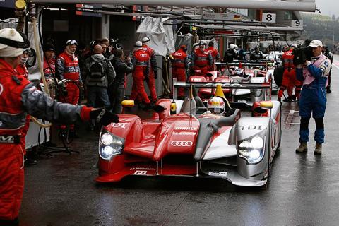 Audi для гонок в Ле-Мане