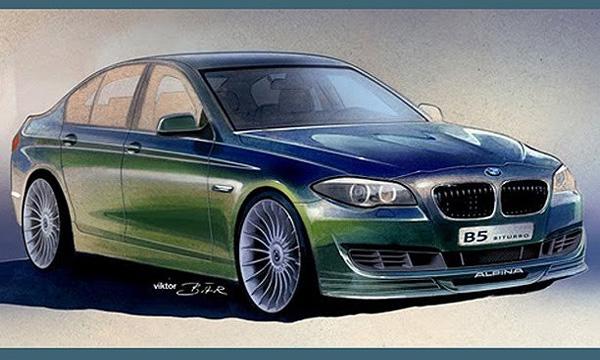 Alpina покажет самый мощный BMW 5-й серии
