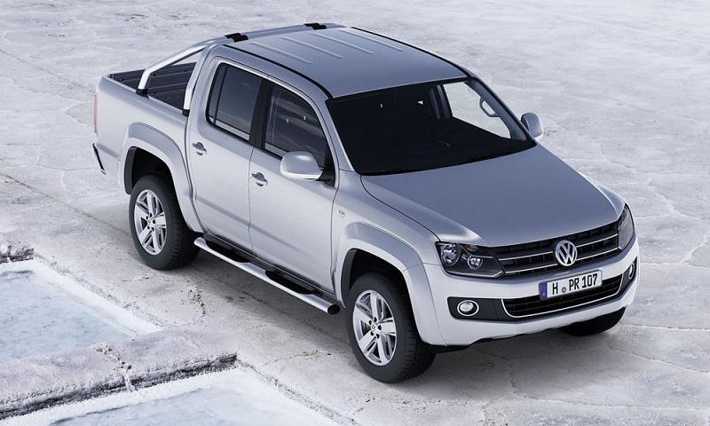 Компания Volkswagen показал Москвичам новый пикап Amarok