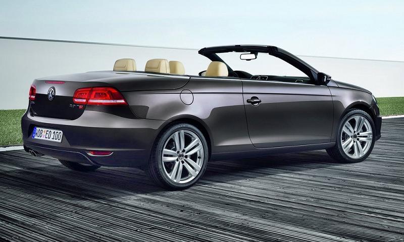 Volkswagen обновил купе-кабриолет Eos