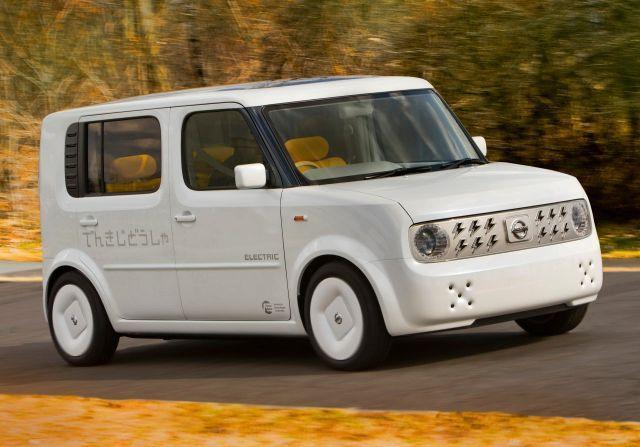 Nissan производит батареи для электромобилей