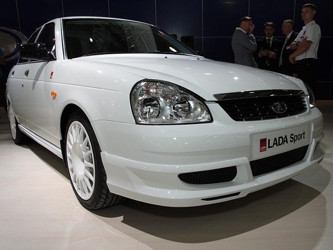 Прием заказов на «заряженную» Lada Priora