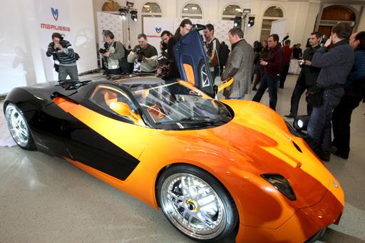 Российский серийный спорткар «Маруся»