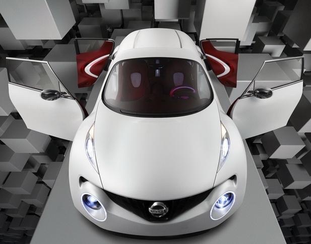 Nissan показал концепт Qazana