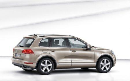 Официальные фото нового Volkswagen Touareg