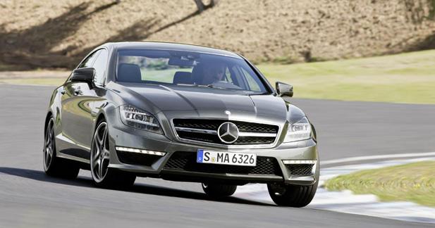 Mercedes-Benz показал CLS 63 AMG