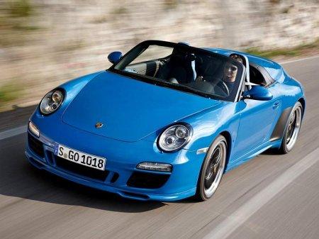 Porsche выпускает черную 911