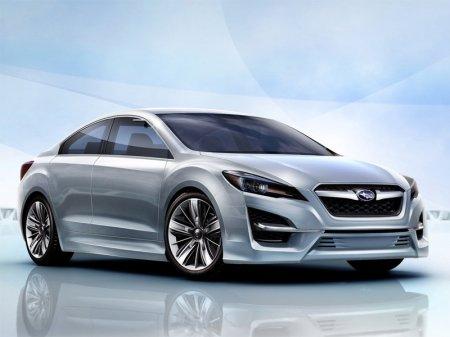 Премьера Subaru Impreza Design Concept