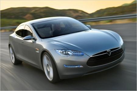Tesla Model S прибудет в Европу в конце 2012 года