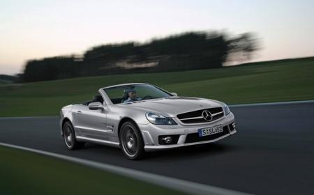 Mercedes-Benz SL-класса New ждут будущей осенью