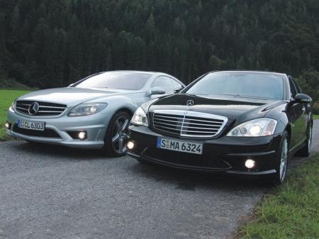 Mercedes начал испытания экстремального седана