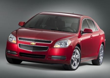 Chevrolet создал виртуальный вариант купе Malibu