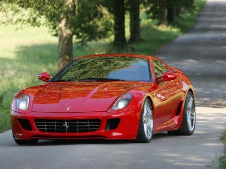 Ferrari 599 прокачали дважды