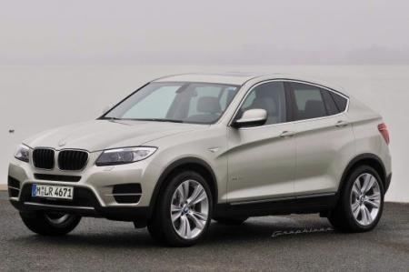 BMW X4 заявил о себе