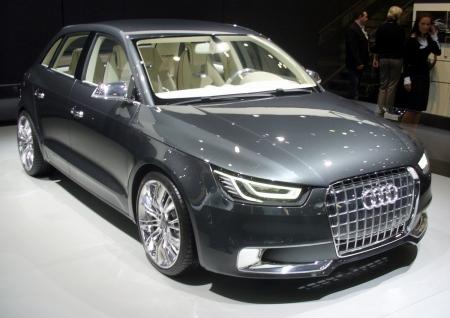 Audi A1 на европейском рынке