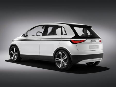 Audi A2 concept приезжала во Франкфурт
