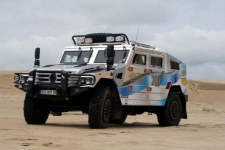 Renault Sherpa стал гражданским