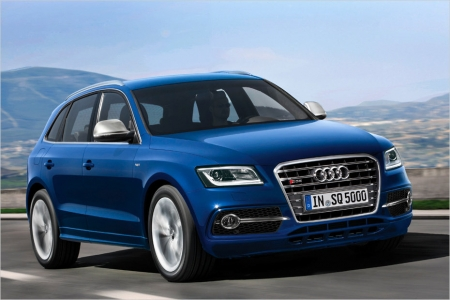 Audi SQ5 TDI: первая с дизельным двигателем