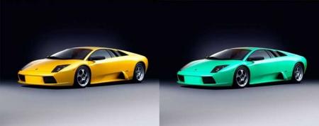 Меняем цвет автомобиля