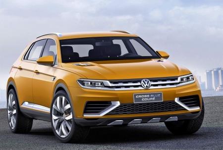 Дебют громче анонса, встречаем CrossBlue Coupe от Volkswagen