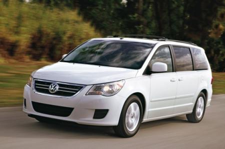 Volkswagen Routan снимают с производства