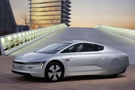 Volkswagen XL1 – самый дорогой гибридный ситикар