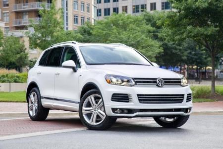 Volkswagen Touareg перестал скрываться