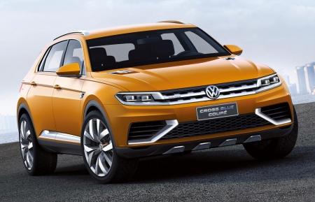 Volkswagen Tiguan готовится к показу