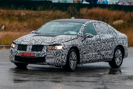 Volkswagen Passat 2015 появился на испытаниях