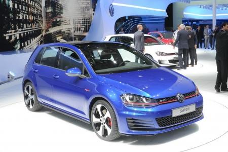 Volkswagen Golf вне дорог