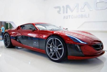 Линейка современных спорткаров пополнилась мощным электромобилем Rimac Concept On