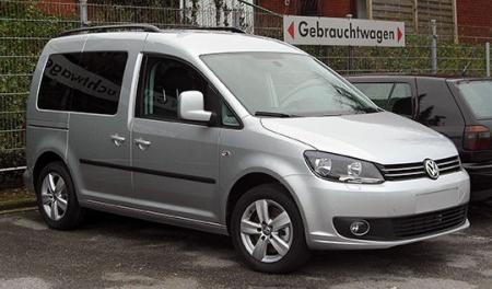 Компания Volkswagen представила новое поколение фургона Caddy